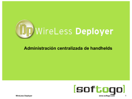 WireLess Deployer