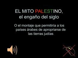 el mito palestino - Site de la famille AMRAM