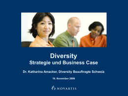 DIVERSITY IN SWITZERLAND
