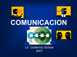 COMUNICACIONES CORPORATIVAS: COMO REALIZAR …
