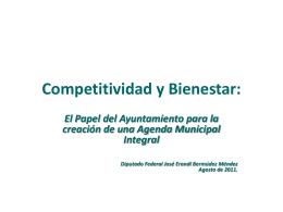 Estrategia de Competitividad y Bienestar:
