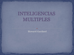 INTELIGENCIAS MUL