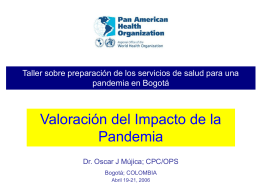 Pandemic Impact Assessment