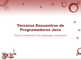 III Encuentros programadores Java