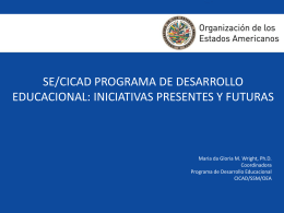Inter-American Drug Abuse Control Commission (CICAD)