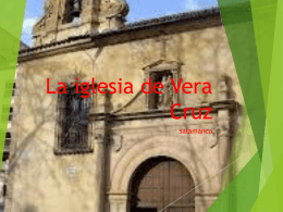 La iglesia de Vera Cruz