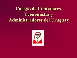 Colegio de Contadores, Economistas y Administradores …