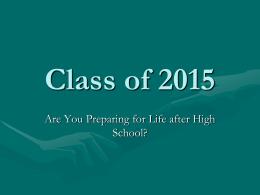 Class of 2012 - Nordonia Hills Schools