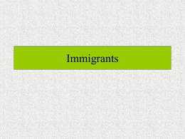 Immigrants - Murrieta Valley Unified School District