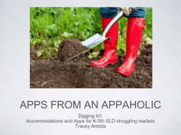Apps from an aPPaholic