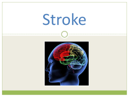 Stroke and effective interventions