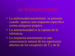 AUTOINMUNIDAD