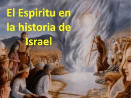 El Espiritu en la historia de Israel