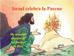 Israel celebra la Pascua