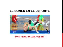 Lesiones en el Deporte