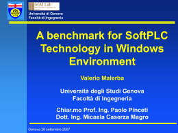 A Benchmark for SoftPLC Technology in Windows …