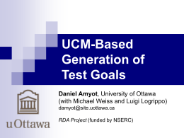 UCMExporter: Supporting scenario transformations from …
