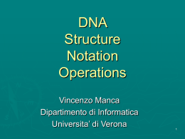 Introduction to DNA Computing