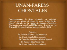 UNAN-FAREM-CHONTALES
