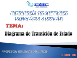 INGENIERIA DE SOFTWARE ORIENTADA A OBJETOS
