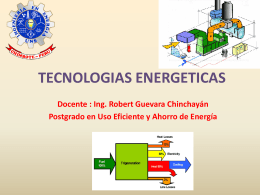 TECNOLOGIAS ENERGETICAS - Biblioteca Central de la