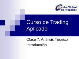 Curso de Trading Aplicado