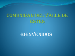 COMUNIDAD HISPANA - Crossroads Ministry of Estes …