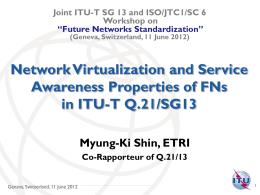 ITU-T in a Nutshell