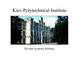 Kiev Polytechnical Institute