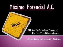 Diapositiva 1 - Maximo Potencial