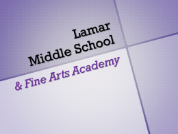 Lamar Middle School