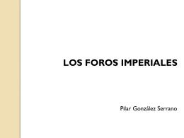 Los foros imperiales - Ediciones Evoh&#233
