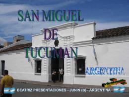 SAN MIGUEL DE TUCUMAN - ARGENTINA--