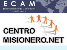 Diapositiva 1 - Centro de Formacion Misionero