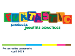 Diapositiva 1 - Funtastic products