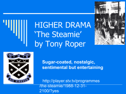 The Steamie' by Tony Roper