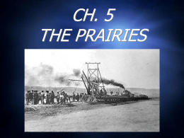 CH. 5 THE PRAIRIES