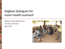 Ghana Dagbani dialogue project