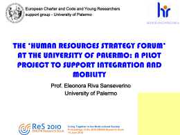 Lo Human Resource Strategy forum: proposte per l