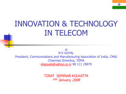 INNOVATION & TECHNOLOGY IN TELECOM