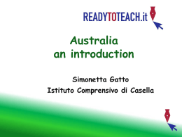 Inserire Titolo - Ready to teach