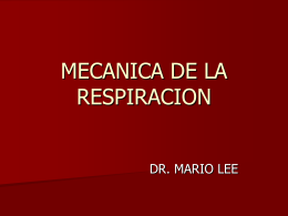 ESTRUCTURA Y FUNCION APARATO RESPIRATORIO