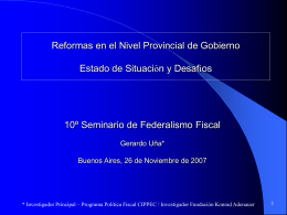Paraguay Institutional and Governance Review