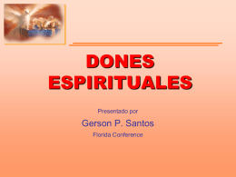 Dones Espirituales - Equipped4Ministry