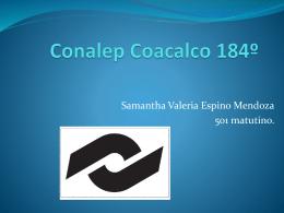 Conalep Coacalco 184&#186