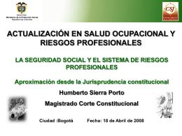 Diapositiva 1 - Rama Judicial