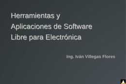 Diapositiva 1 - ELECTRONICA UNPRG