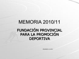 MEMORIA 2008/09