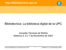 Bibliotecnica