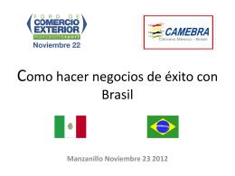 Brasil Oportunidades de desarrollo para estudiantes UAM